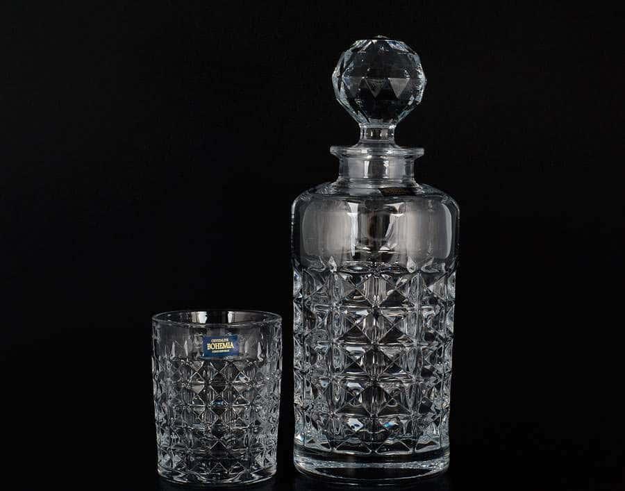 DIAMOND Набор для виски Crystalite Bohemia 7 предметов