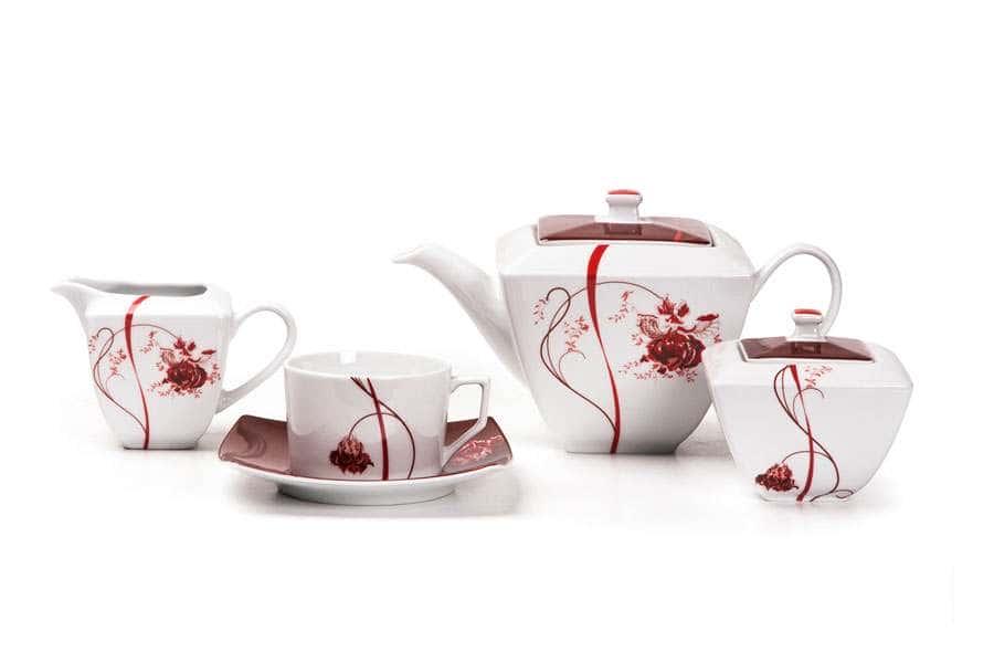 KYOTO Сервиз чайный 15 прeдмета Noblesse Roug Тунис