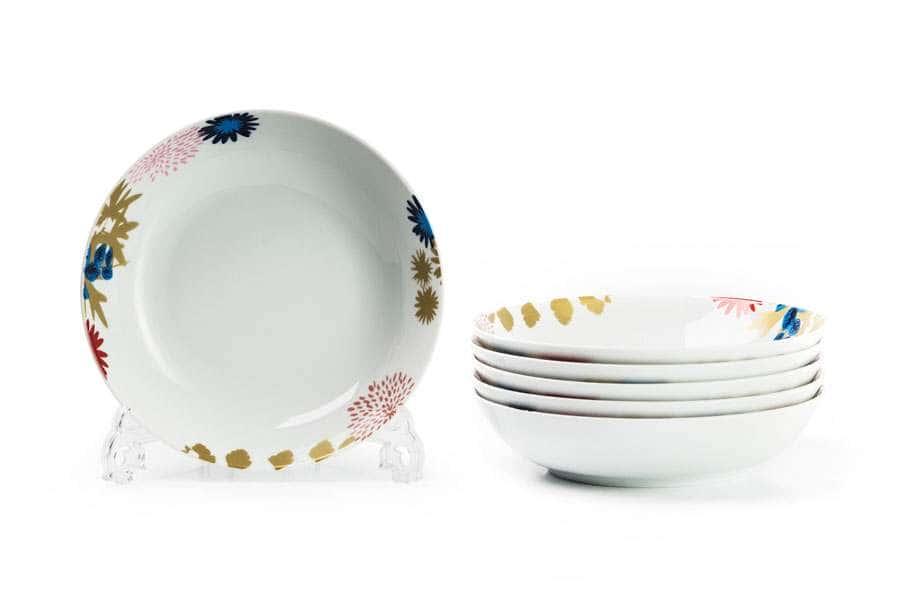 MIMOSA Набор глубоких тарелок  6 шт  Ilionor 2227 Тунис