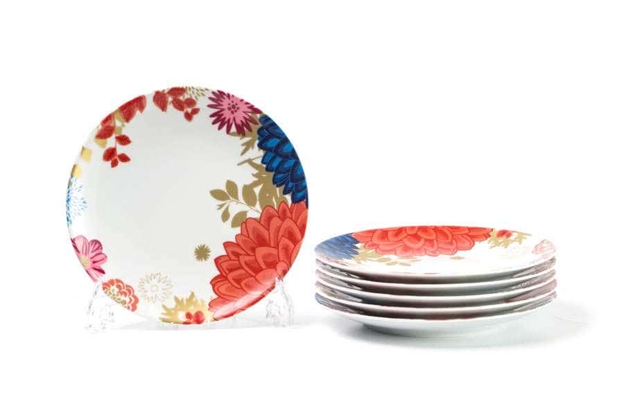MIMOSA Набор тарелок 23 см  6шт Ilionor 2227 Тунис