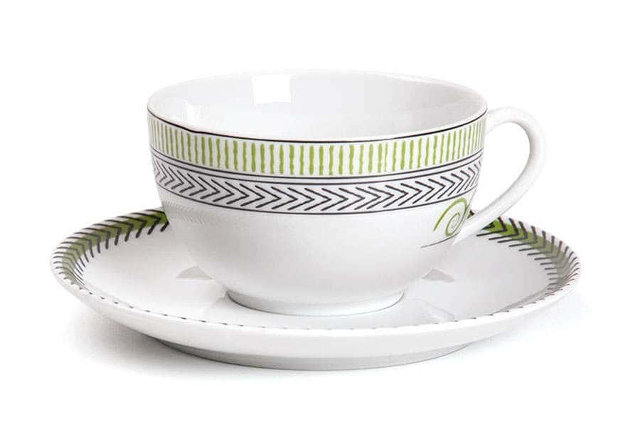 MONALISA 0994 Набор чайных пар 210 мг 12 предмета BEAUX ARTS Тунис