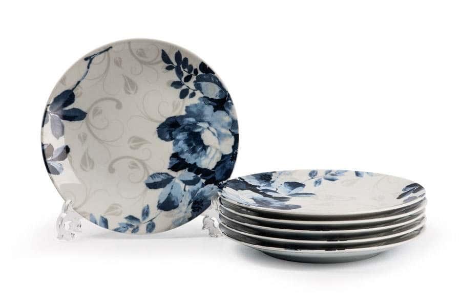 MONALISA 1780  Набор десертных тарелок  21 см  6 шт Jardin Bleu Тунис