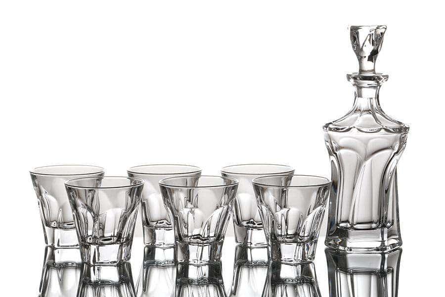 APOLLO Набор для виски Crystallite Bohemia 7 предметов