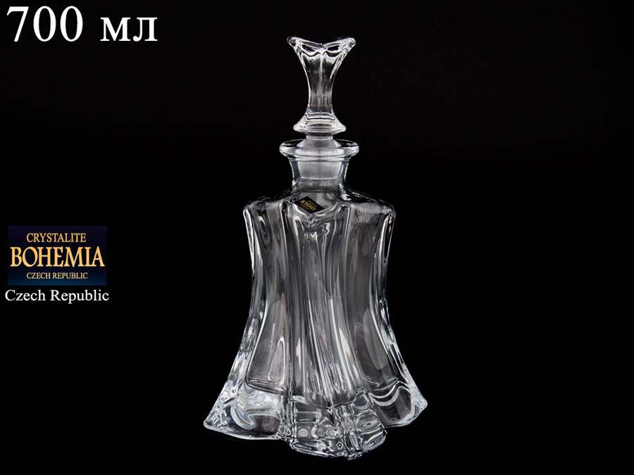FLORALE Штоф Crystalite Bohemia 700 мл из стекла 37946
