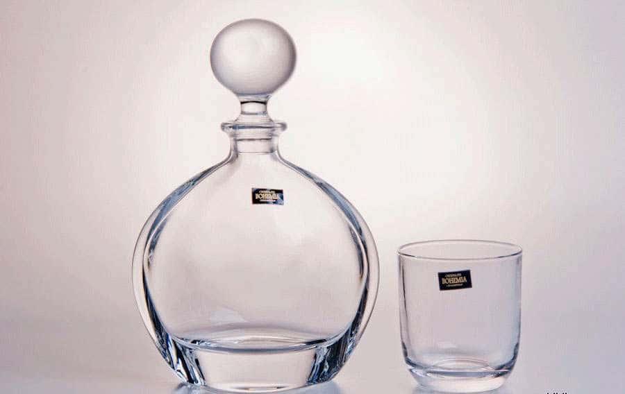 ORBIT Набор под виски Crystalite Bohemia 7 предметов