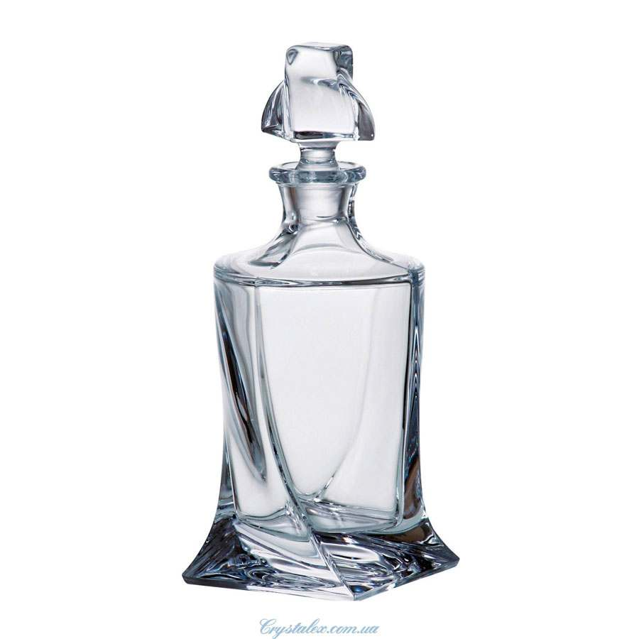 Quadro Штоф стеклянный Crystalite Bohemia 850 мл