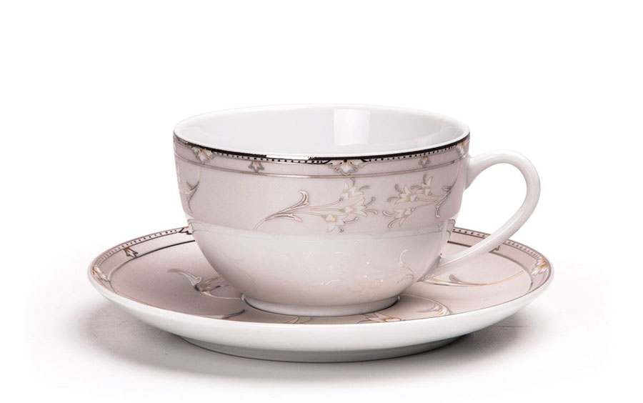 ISIS 1558 Набор чайных пар 200 мл 12 предметов  Muguets Du Paradie Тунис