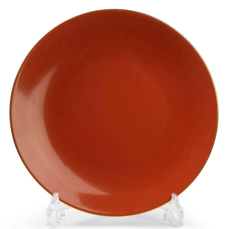 MONALISA 3126 Rainbow Or  Набор тарелок 27 см 6 шт  Тунис