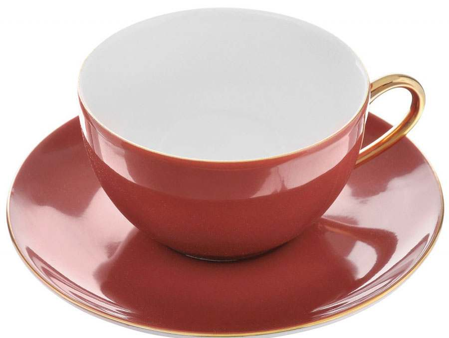 MONALISA 3125 Rainbow Or Набор чайных пар 210 мл 2 предмета  Тунис