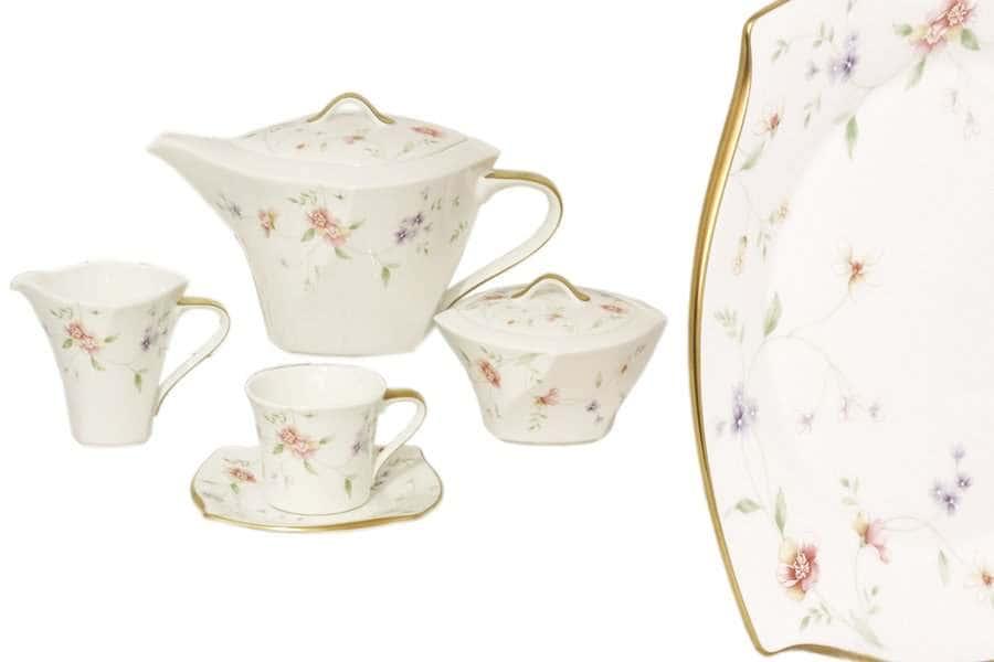 Чайный сервиз 17 предметов на 6 персон Весна Narumi Индонезия
