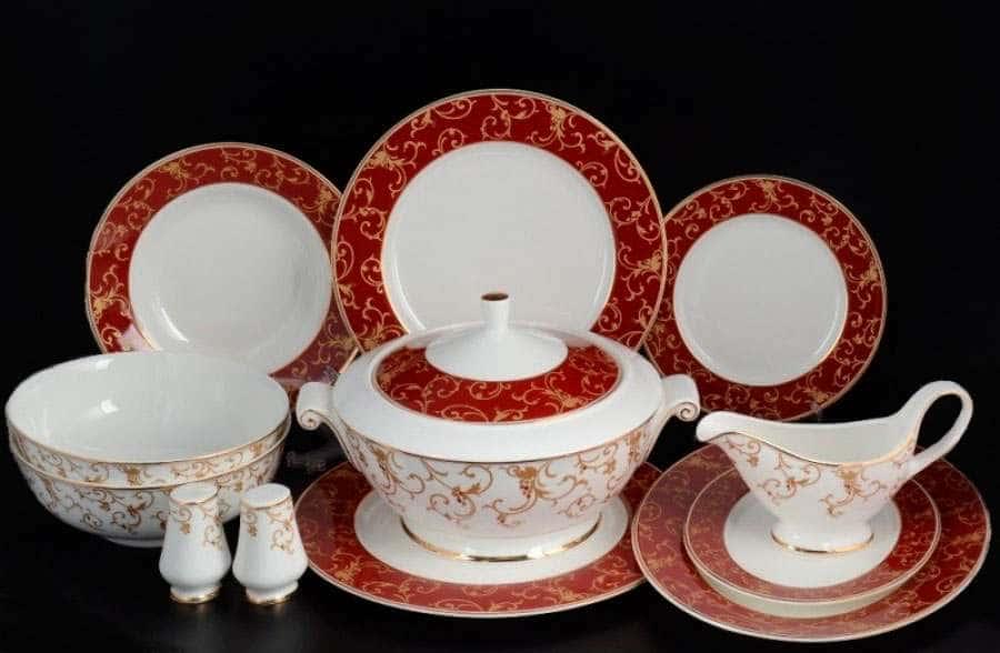 Престиж red Столовый сервиз Royal Classics на 6 персон 28 предметов