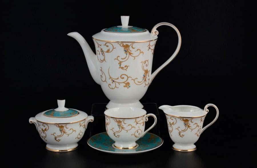 Престиж blue Чайный сервиз Royal Classics на 6 персон 17 предметов