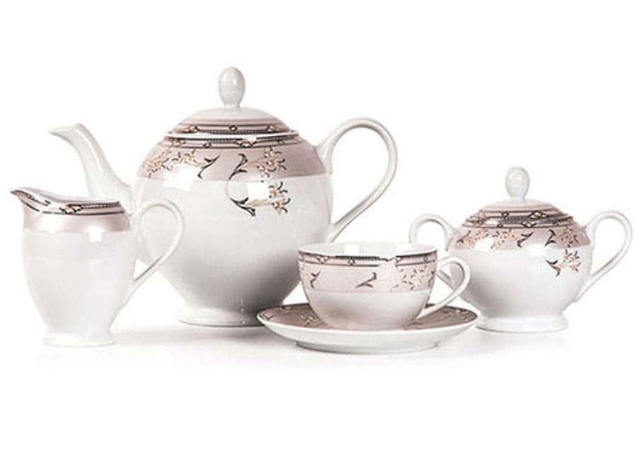 ISIS 1558 Muguets Du Paradie Сервиз чайный 15 предметов Тунис