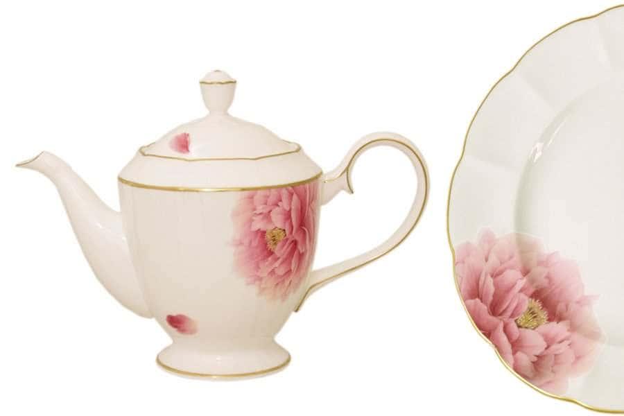 Чайник с крышкой Пион Narumi  Индонезия