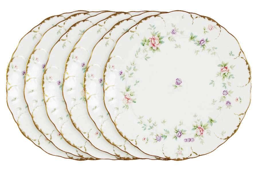 Набор из 6 обеденных тарелок Воспоминание Narumi Индонезия