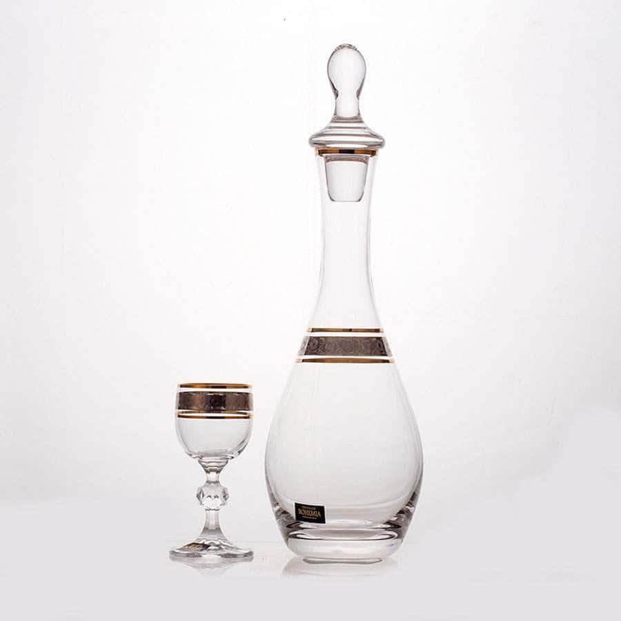 Клаудия 43249 Набор для водки Crystalite Bohemia на 6 перс. 7 пред