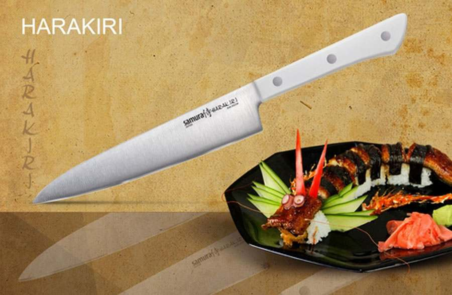 HARAKIRI кухонный нож Samura Япония