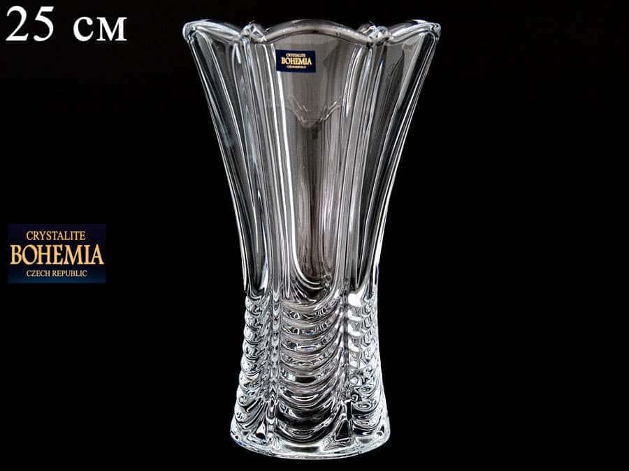 ORION Ваза для цветов Crystalite Bohemia 25 см