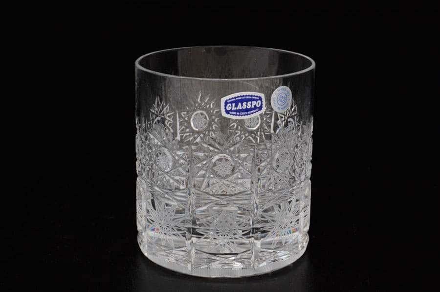 Glasspo  Набор стаканов для виски 330 мл из хрусталя