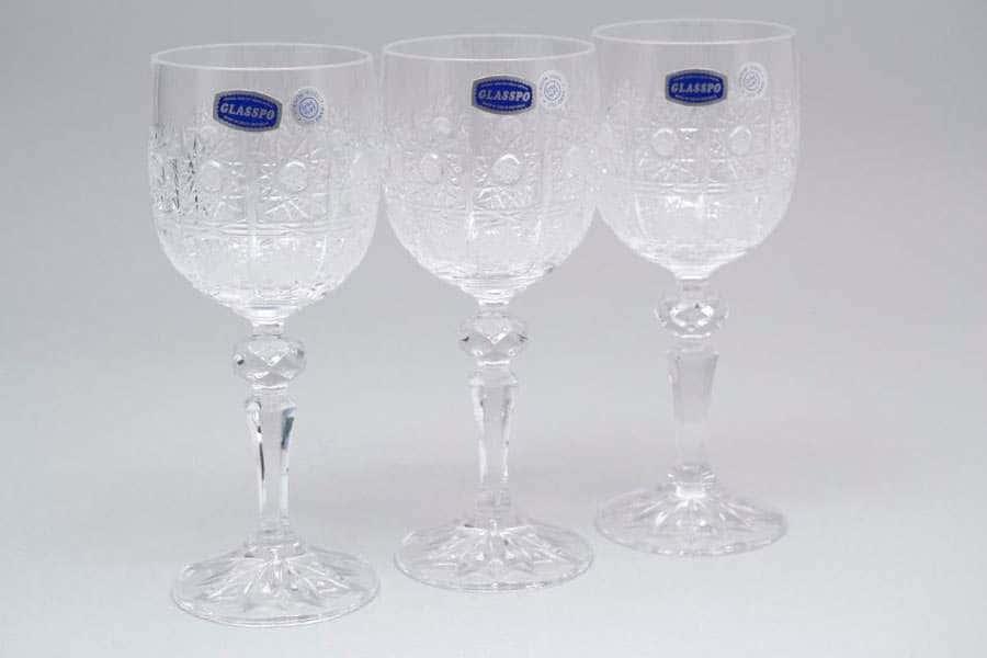 Glasspo Набор бокалов для вина 170 мл из хрусталя