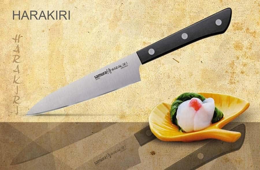HARAKIRI  Нож кухонный универсальный Samura коррозионно-стойкая сталь Япония