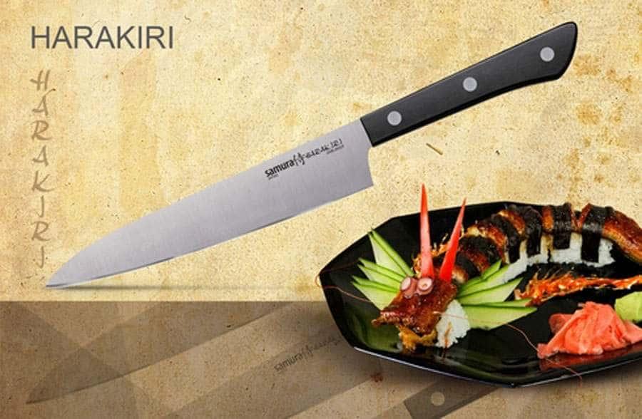 HARAKIRI  Нож кухонный универсальный Samura коррозионностойкая сталь