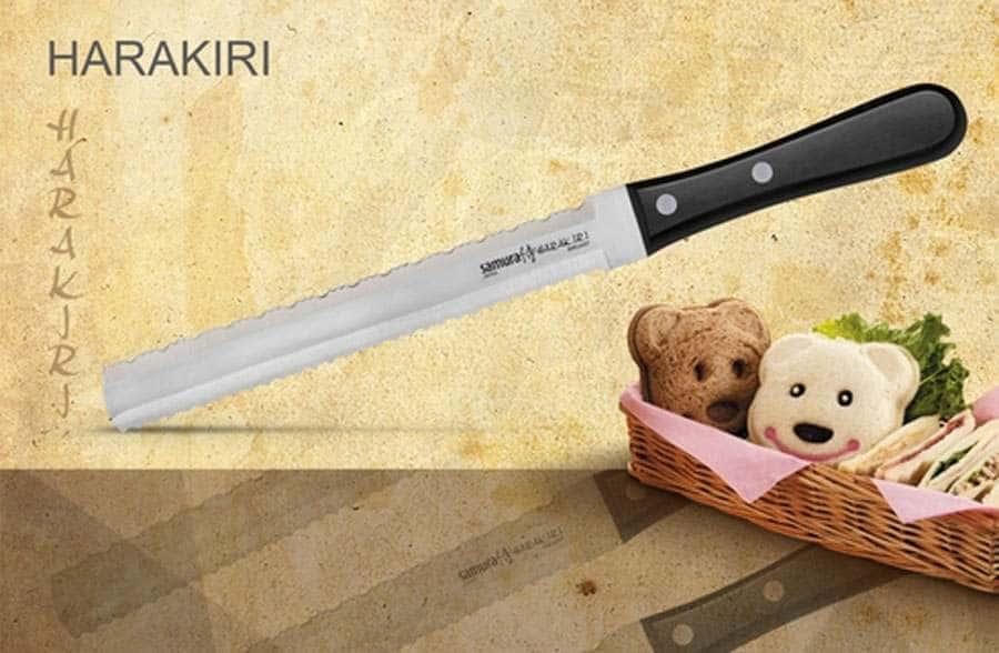 HARAKIRI Нож для заморозки Samura коррозионностойкая сталь