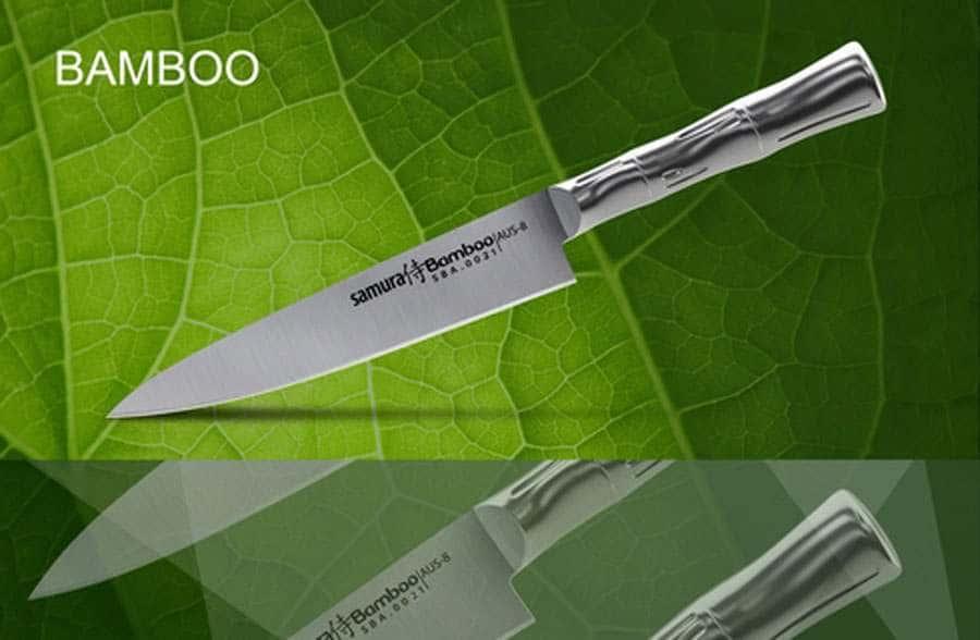 Bamboo Нож кухонный универсальный Samura