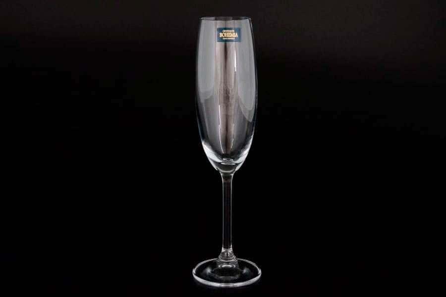 GASTRO Набор бокалов для шампанского Crystalite Bohemia 220 мл