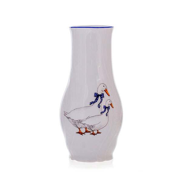 Бернадот Гуси Ваза для цветов Thun 19 см
