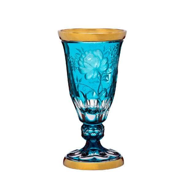 Примерозе Голд Ваза для цветов Arnstadt Crystall  40 см
