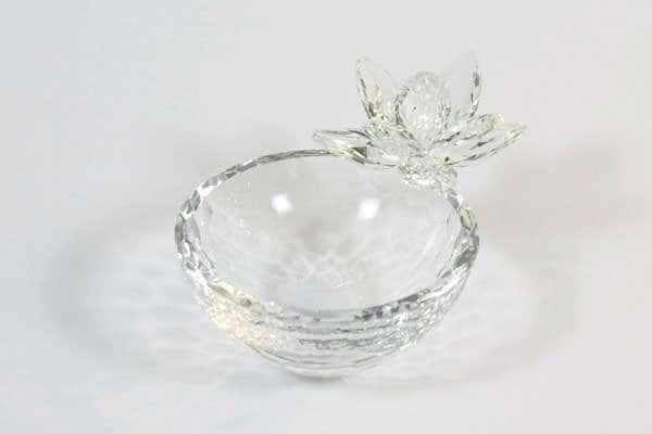 Цветок Чаша подарочная из стекла Ranoldi  Италия