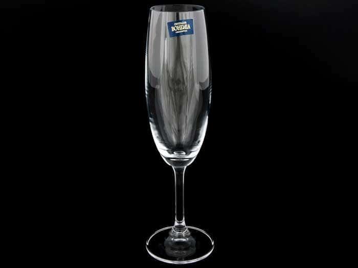 KLARA Набор фужеров для шампанского Crystalite Bohemia 220 мл