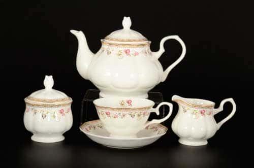 Эйвон Чайный сервиз Royal Classics на 6 персон 17 предметов