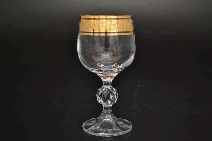 Клаудия Золото Фужер для вина Crystalite Bohemia 150 мл