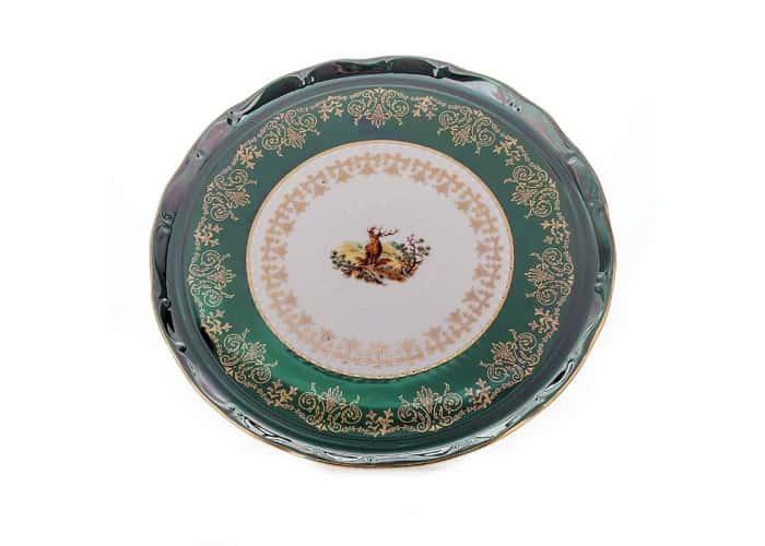 Охота зеленая Тортница Bavarian Porcelain
