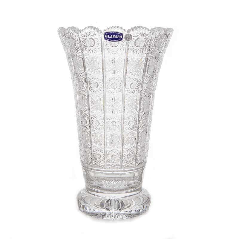 Хрусталь 80838 Ваза для цветов Glasspo 30,5 см.