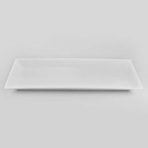 Эксквизит Тарелка прямоугольная Никко 34 см из фарфора Япония
