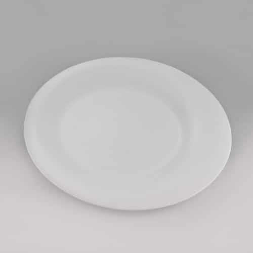 Эксквизит Тарелка сервировочная ассиметрия Никко 26 см из фарфора