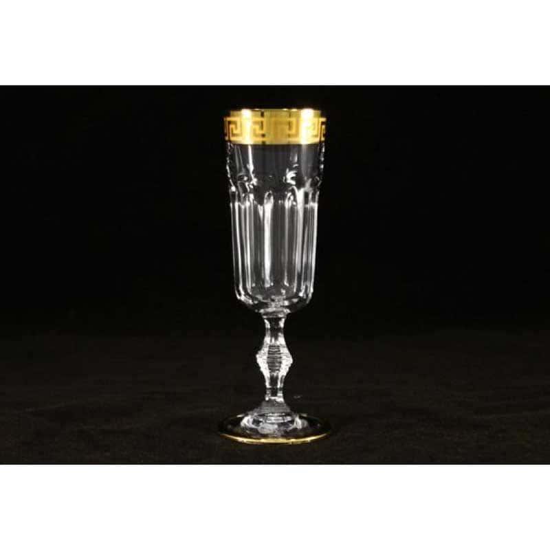 Версаче 6 бокалов для шампанского Саме (Same) Италия в подарочной упаковке