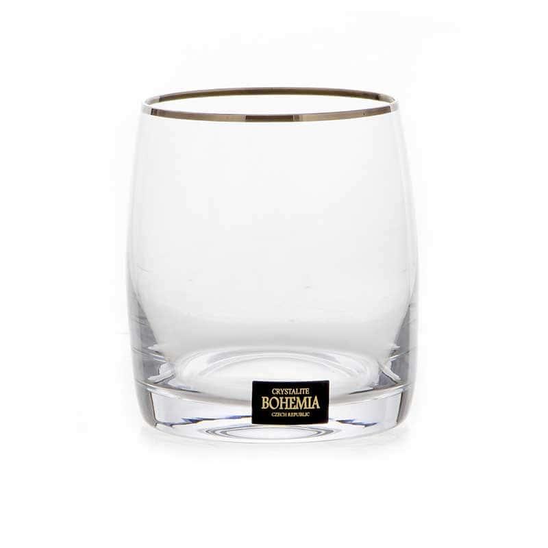 Идеал 230117 Набор стаканов для виски Crystalite 290 мл. 6 шт.