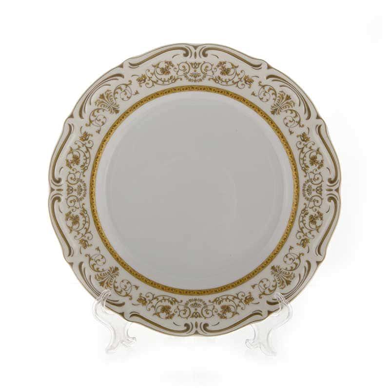 Мария Тереза-Элеганз Набор тарелок Bavarian Porcelain 24 см. 6 шт.