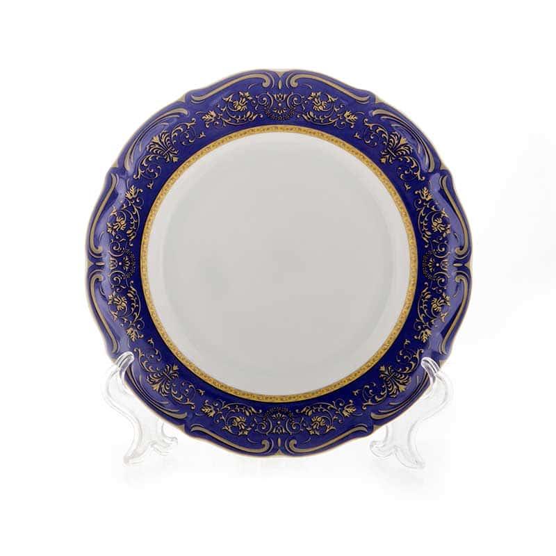 Мария Тереза-Элеганз кобальт Набор тарелок Bavarian 19 см. 6 шт.