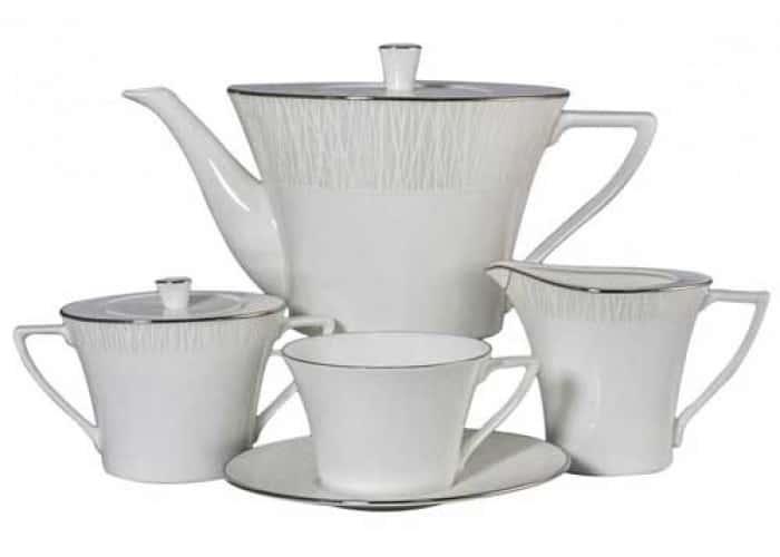 Сияние Сервиз чайный Наруми 17 пр. из фарфора Япония