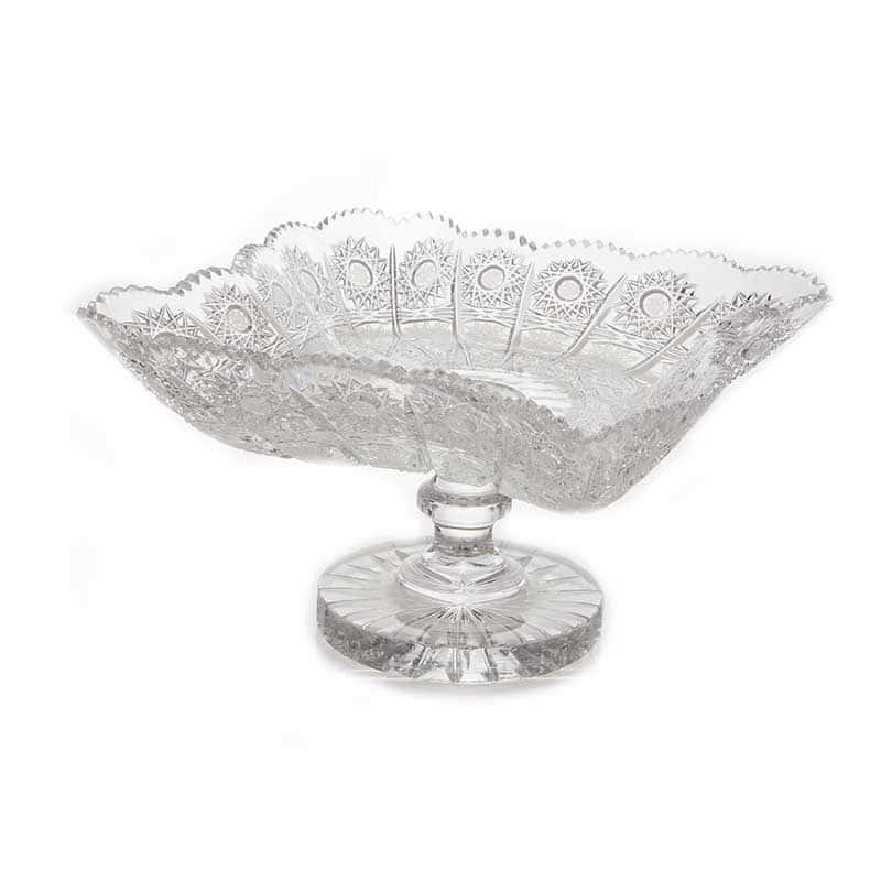 Хрусталь 61141 Ваза для фруктов Glasspo н/н 25,5 см