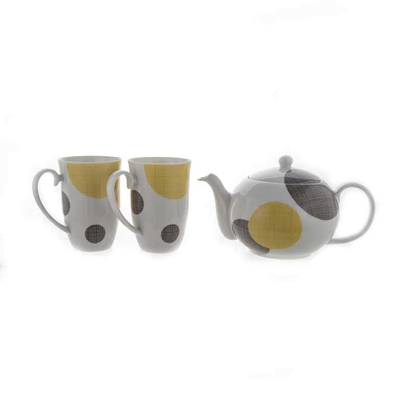Веймар Круги Набор для чая из 3 предметов Германия