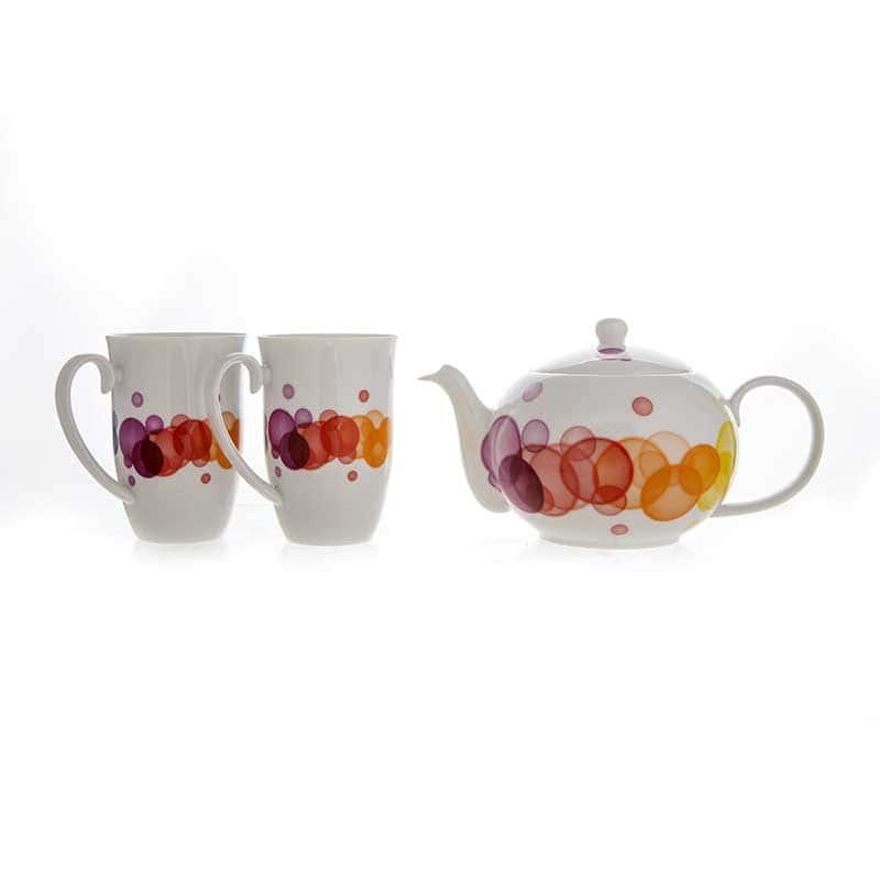 Веймар Bubbles Набор для чая из 3 предметов Германия