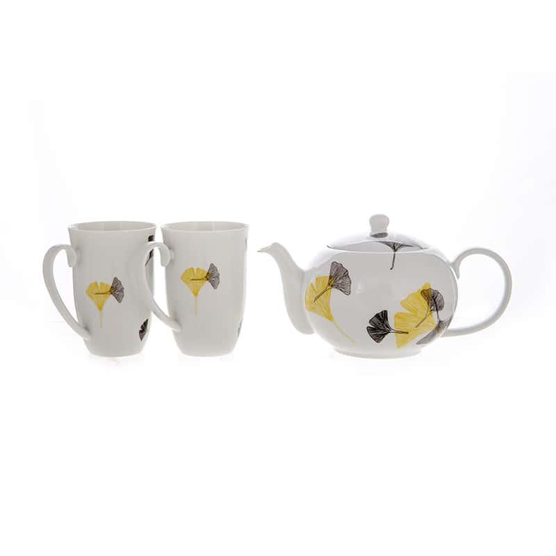 Веймар Листок Набор для чая из 3 предметов Германия