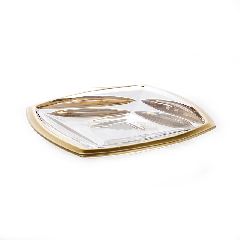 Факет Матовая 2 Блюдо Union Glass 18 см.