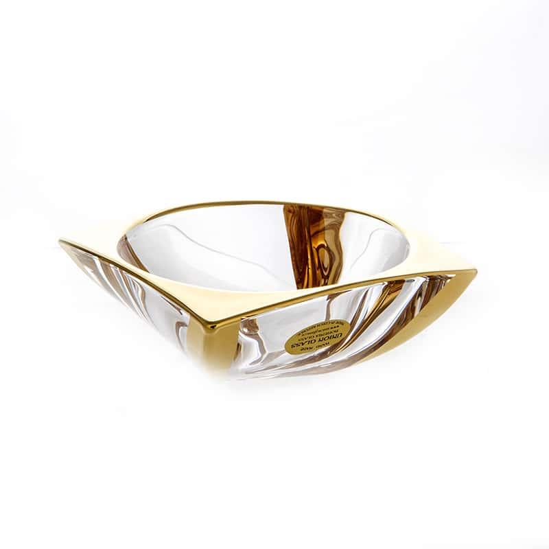 Ареззо Блестящая 2 Ваза для варенья Union Glass 15 см.